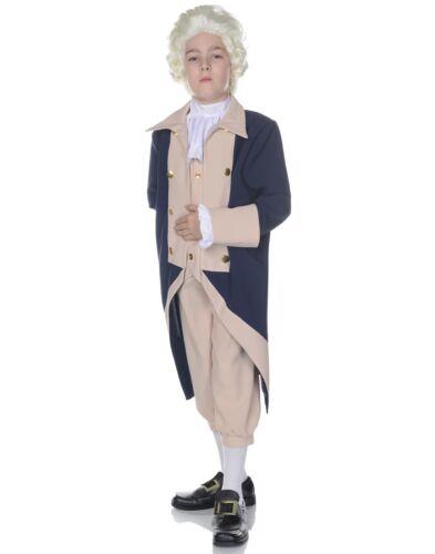 George Washington Boys Child Presidential Victorian Halloween Costume