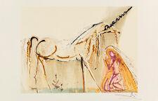 La Licorne (Unicorn) - Les Chevaux de Dali by Salvador Dali Art Print