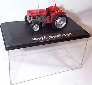 Massey-Ferguson-MF-135-1965-tracteur-neuf-en-cas-echelle-1-43
