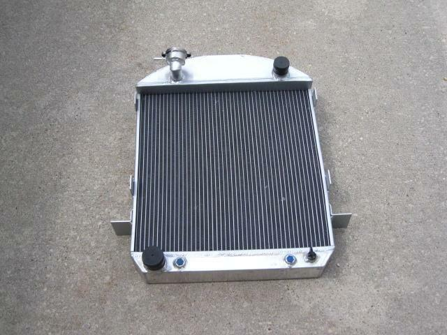 1917-27 Ford T-Bucket Street Rod 3 Row Aluminum Radiator 24 x19 x 3 Ford Engine