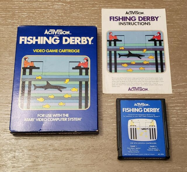 Fishing Derby Atari 2600