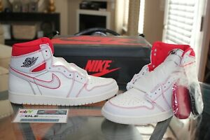 Calibre Maduro Expansión  Deadstock Air Jordan Retro 1 High OG Phantom Gym Red White 555088-160 Size  11 | eBay