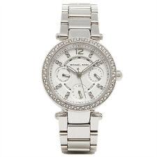 Michael Kors MK5615 Mini Parker Glitz Silver Bracelet Watch RRP £259
