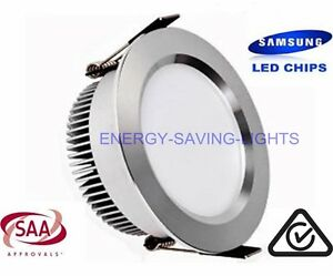 10W-SAMSUNG-FROSTED-SILVER-DIMMABLE-LED-DOWN-LIGHT-HOME-OFFICE-SHOP-LIGHTING