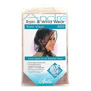 Andre-855-Rain-Bonnet-with-visor-BIEGE