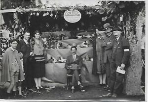Photo-Stand-CONTOUX-a-Bourbon-Lancy-71-Foire-Exposition-Annees-1920