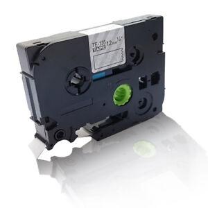 2480 original vhbw® Schriftband Tape 12mm W-B für BROTHER P-Touch 2460 2470
