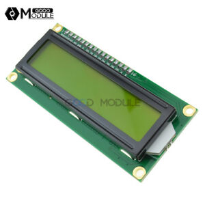 5PCS-1602-16x2-Character-LCD-Display-Module-HD44780-Controller-Yellow-Blacklight