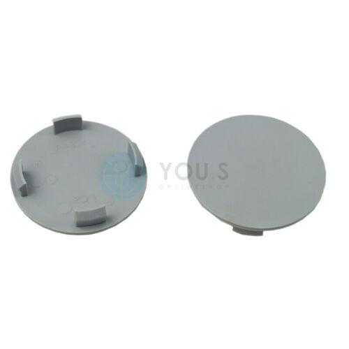 2 x tapacubos embellecedores llantas tapa 64,0-58,0 mm-ro1-gris oscuro-nuevo