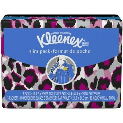 Shock-Resistant And Antimagnetic Hard-Working Kleenex Everyday Tissue Slim Pack Waterproof pack Of 4