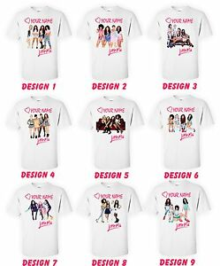 Image Is Loading Little Mix T Shirts Kids Personalised With Name