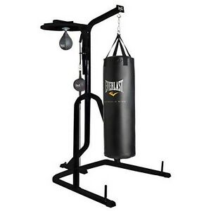 Everlast Three Station Heavy Duty Punching Bag Speed Stand