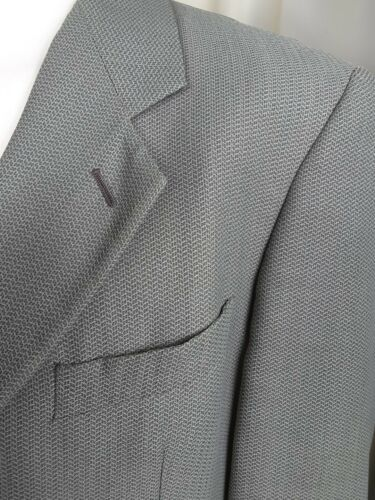 Wool Green Jacket Collezioni Giorgio 42r Textured Italy In Armani Made Le Blend 0t1Xq6