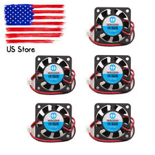 40x40x10mm 12V DC Cooling Fan 2 Wire Model 4010S for 3D Printer CPU GPU Extruder