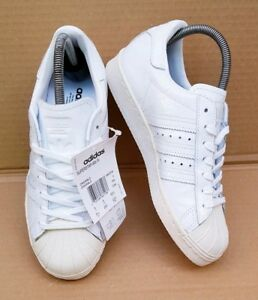 80's Bnib Croc Details Adidas White New Superstar Trainers In Patent Effect Size Zu 4 Uk K1TFJlc