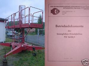 VEB-Eaw-Plataforma-de-Trabajo-Andamios-Manual-Documentos-Funcionamiento-FH1600-1