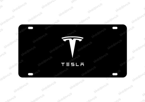 Tesla Car License Plate Model S Car Model 3 Premium Racing Man Cave Acrylic Any