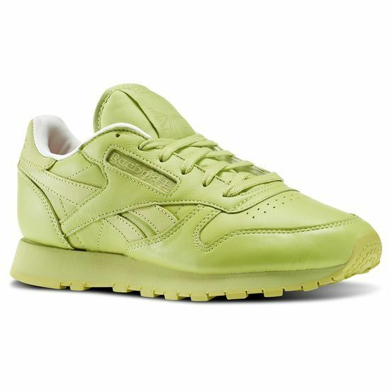 Donna CLASSIC REEBOK X FACE STOCKHOLM CLASSIC Donna LEATHER SPIRIT - GREEN - V69387 - UK 4, 5 1a375d