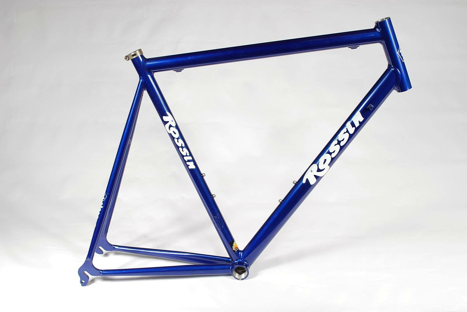 Rossi Alloy Bicycle Frame 62 cm Classic Road Cykel Italian Handgjort NEW