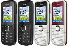 Brand New Nokia C1-01 Grey Unlocked Camera Bluetooth Mobile Phone Genuine Cheap