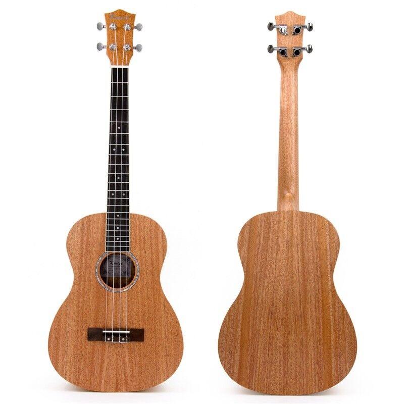 kmise 4 string baritone ukulele mahogany guitar 30 inch ukelele 20 fret for gift 634458819817 ebay. Black Bedroom Furniture Sets. Home Design Ideas