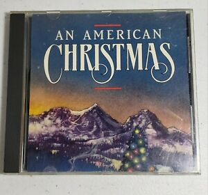 An American Christmas CD SCD 4500 Made In Japan 1987 RARE OOP