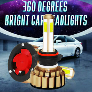 2X-9005-HB3-LED-Bombillas-260W-48000LM-6000K-iluminacion-Faro-Coche-Blanco-Xenon