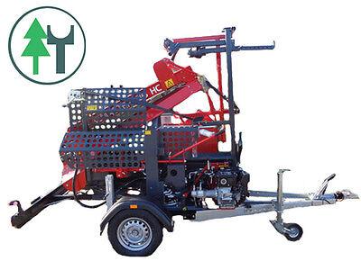 Spalter Pilkemaster Evo36hc Pkw Achse 80 Km/h Stammheber Feuerholzautomat