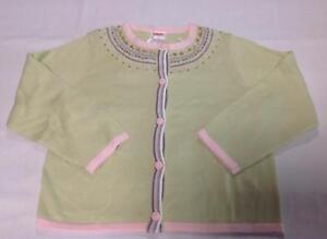 3676aee9b35 Image is loading NWT-Gymboree-WINTER-PRINCESS-green-pink-sequin-cardigan-