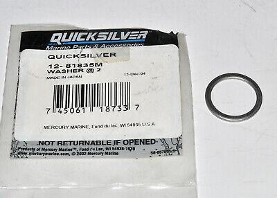 New Mercury Mercruiser Quicksilver Oem Part # 12-81835M Washer