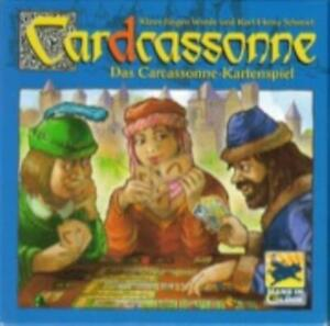 Rio Grande Boardgame Cardcassonne - The Carcassonne Card Game VG