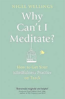 1 of 1 - Why Can't I Meditate?: how to get your mindfulne, Wellings, Nigel, New