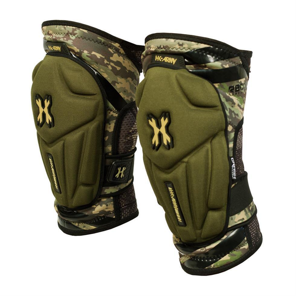 NEW Paintball Crash Knee Pads - HSTL Cam