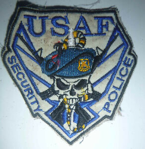 BLUE BERETS - PATCH - USAF SPS - US Air Force Security
