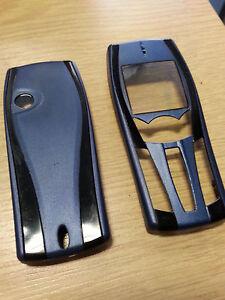 Nouveau-pour-Nokia-7250-7250i-Bleu-Avant-Face-Boitier-amp-Couvercle-De-Batterie
