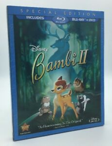 Bambi II (Blu-ray+DVD, 2011; 2-Disc Set, Special Edition) w/ Slipcover