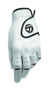 New TaylorMade 2015 Targa Cabretta Leather White Golf Glove - Pick Size