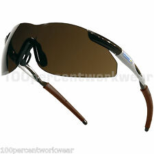 Delta Plus THUNDER BRONZE Lens Safety Sun Glasses Specs Spectacles Cycling UV400