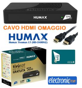 HUMAX HD-3800S2 TVSAT DECODER SATELLITARE HD SCR DCSS TIVUMAX HD-3800S2 -HUMAX
