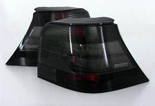 VW Golf MK4 4 Hella Black Smoke Tail Lights Rear Lamp GTI R32 Anniversary