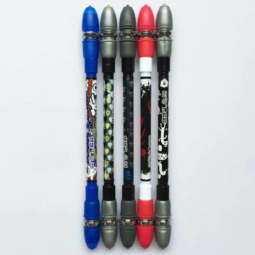 Non Slip Coated Spinning Pen Champion Rolling Ball Point Pen 2019