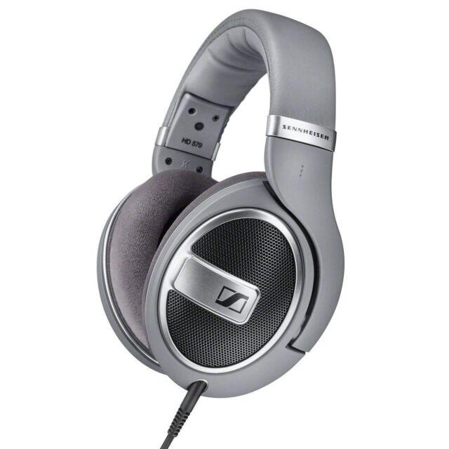 Sennheiser HD 579 Headphones - Silver - Brand New *<>*