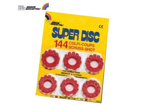 PROIETTILI GIOCATTOLO PER ARMI A 12 COLPI SUPER DISC 125dB