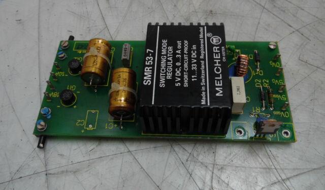 Indramat Control PC Board, # 109-468-3209-1, SMR53-7, Used,  WARRANTY