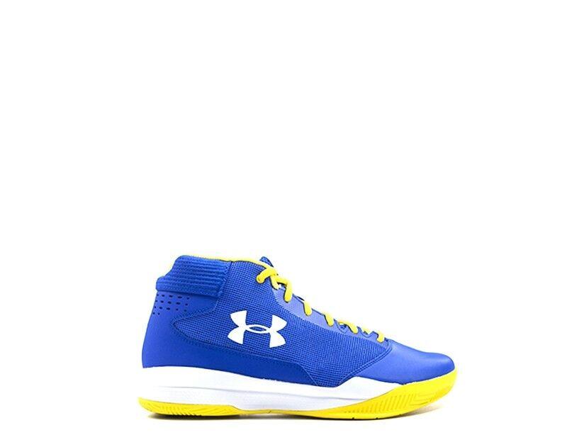 Schuhe UNDER ARMOUR Mann Mann ARMOUR BLU Beschichtetes Leder 1300016-0400 1ffcb0