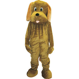Adults golden retreiver costume