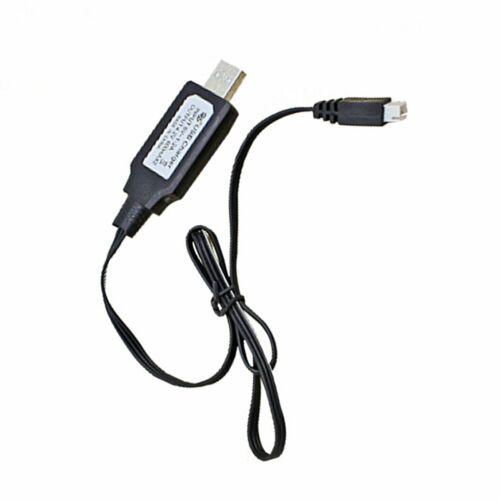 Für HUINA 580 1//14 23 Kanäle Legierung RC Bagger Zubehör USB Ladekabel Schwarz