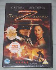 THE LEGEND OF ZORRO - NEW Sealed DVD Antonio Banderas, Catherine Zeta Jones