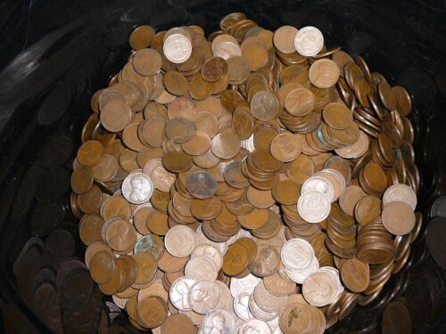 500 Bulk Pennies 1909 Guaranteed 1909-1939 Lincoln Wheat Cents