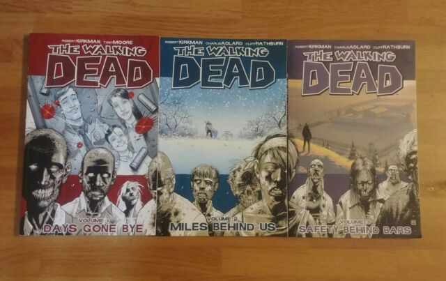 The Walking Dead Vol. 1-3, Image, Softcover, Graphic Novel, Comic Books